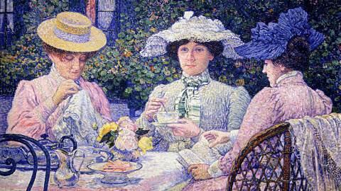 40x Classic Tea Paintings