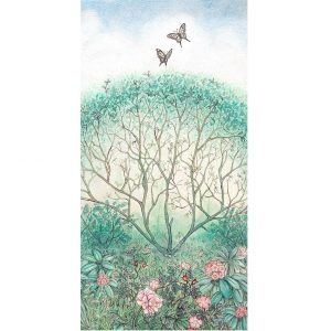 Tea Garden Painting square